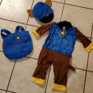 New Paw Patrol Chase Halloween Costume 2t-3t